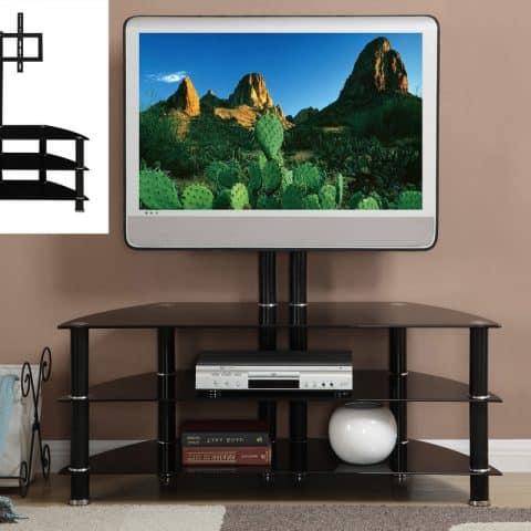 TV Stand Black Metal