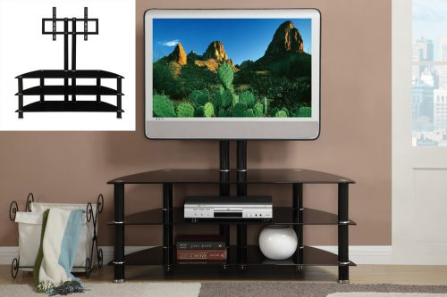 TV Stand Black Metal