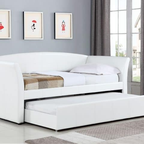 daybed daybeds trundle white bedroom