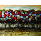 Wall Art Patchwork Forest