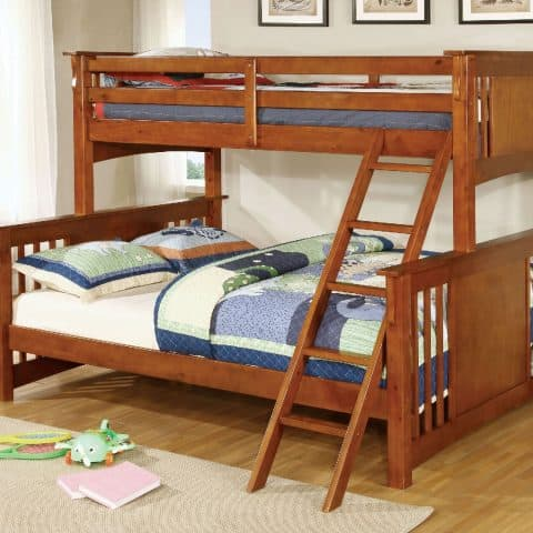 Twin XL Over Queen Bunk Bed