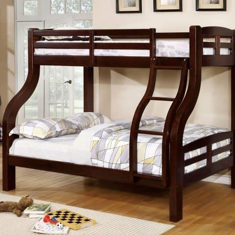Expresso Twin Over Full Bunk Bed