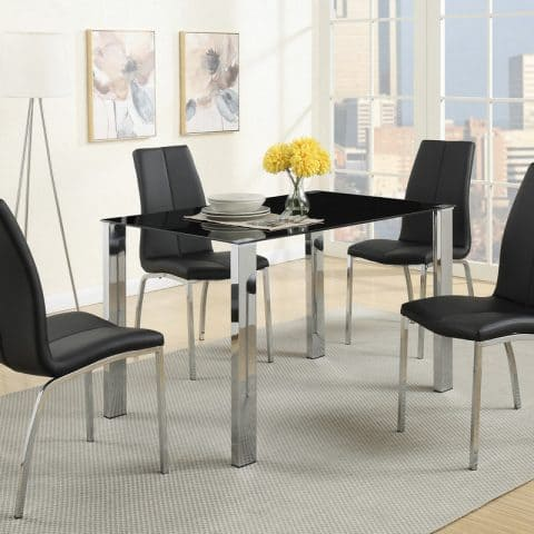 Dinette Glass Table Set