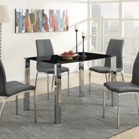 5 Piece 5 Piece Modern Dinette Table Set