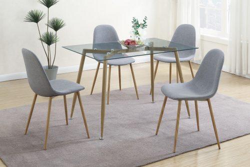 Dinette Table Set Petal Seats