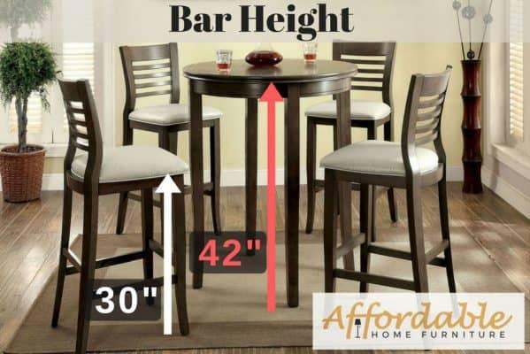 Bar Height Table 42