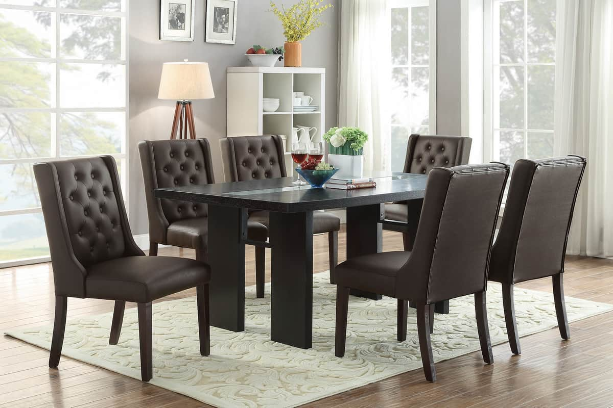 Contemporary Dining Room Set Affordable Home Furniture