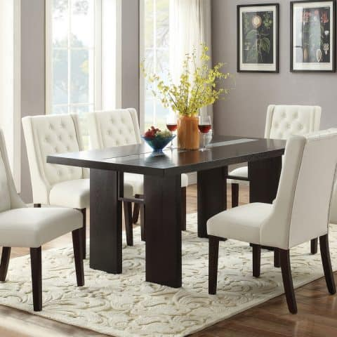 7 Piece Contemporary Dining Room Set