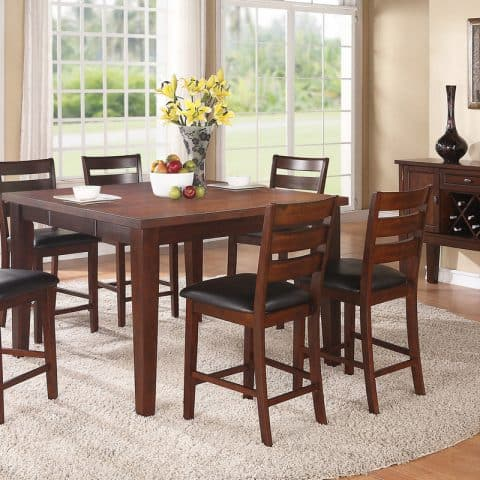 7 Piece Counter Height Dining Sets
