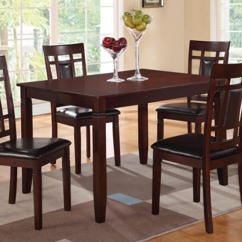 5 Piece Small Kitchen Table Dining Set