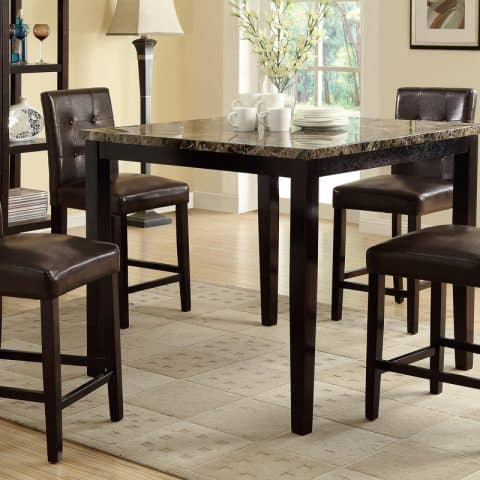 Counter Height Table With Four Chairs