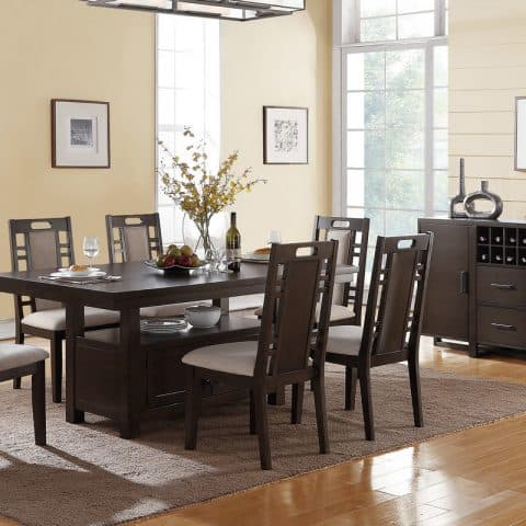7 Pcs Formal Dining Room Set