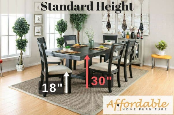 Standard Height Table 30