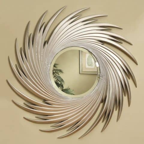 Wall Mirrors Round Spiral