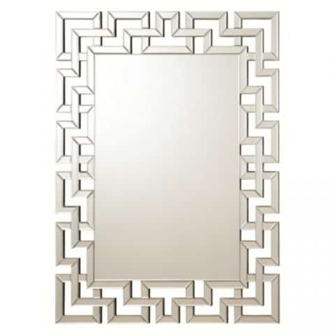 Wall Mirror Frame Less Greek Key