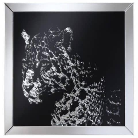 Wall Mirror Leopard