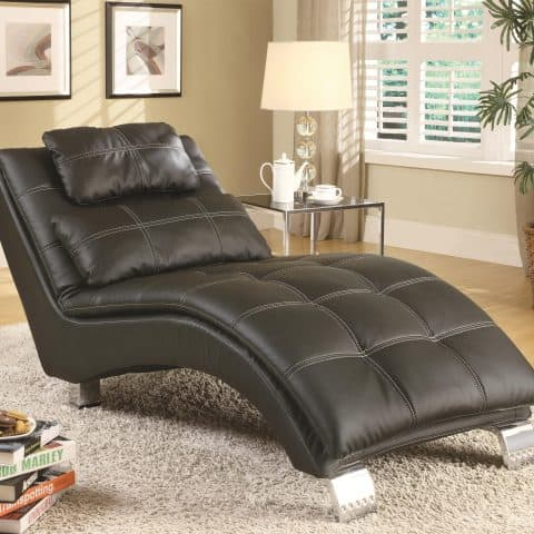 Chaise Lounge Contemporary Sophisticated Modern