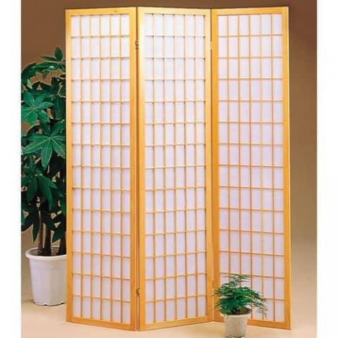 White Panel Screen Room Divider