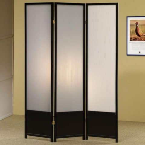 Translucent Lining Screen Room Divider