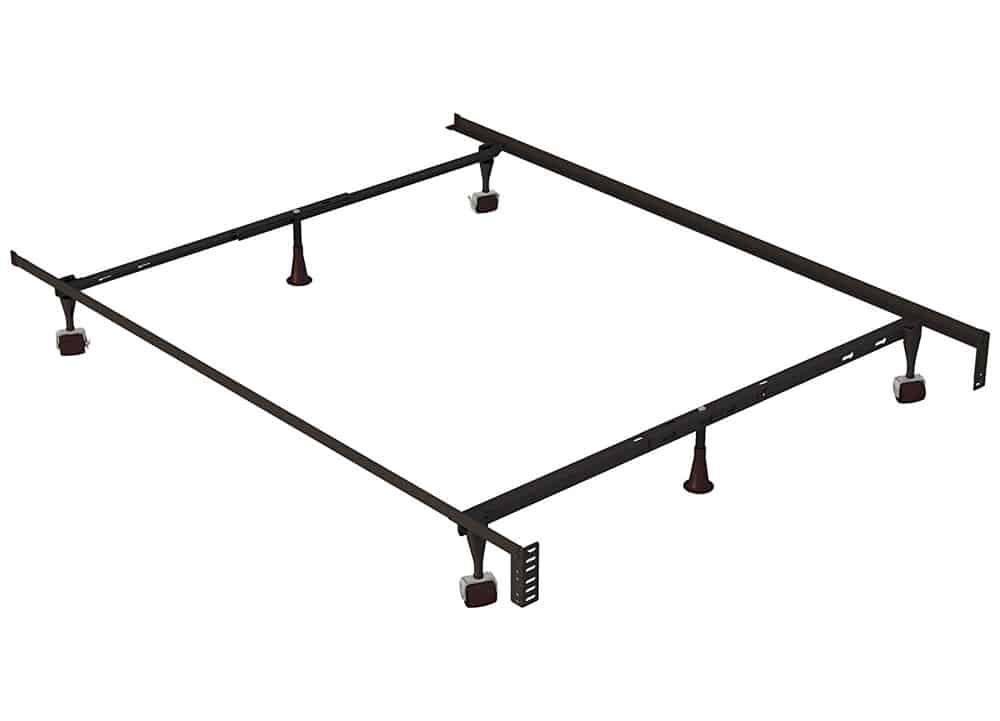 Twin Metal Bed Frame | Affordable Home Furniture Steel Frame Homes Near Me