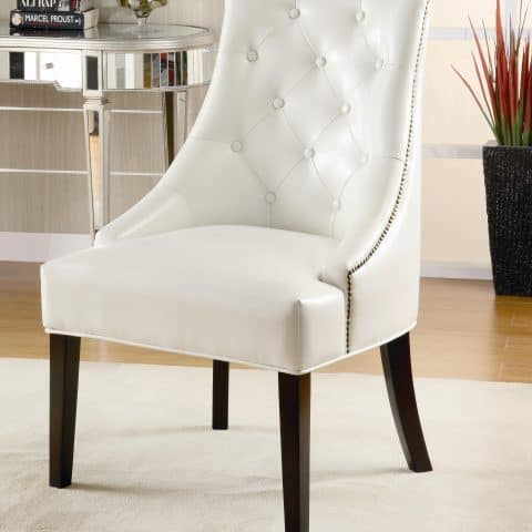 Seating Upholstered Accent Chair Tufted Button