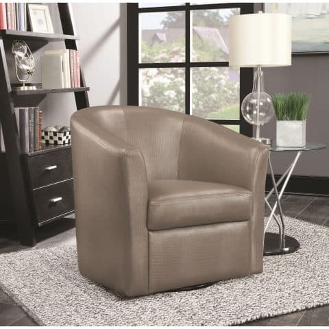 Accent Chair Contemporary Styled Accent Swivel Chair