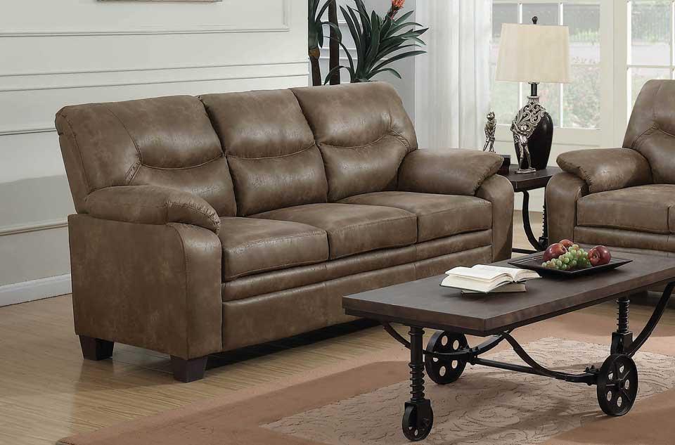 Coated Microfiber Sofa